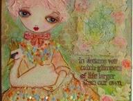 Art Journal girls / by Lee Whittingham