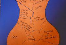 Jeremiah sees a potter (Jer. 18: 1-12)