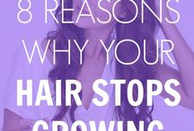 Why hair stops growing