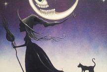 Halloweenowe ilustracje