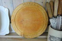 Vintage Bread Boards