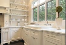 Kitchens and shelves