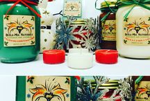 Christmas Soy Candle Collection / Bella-Mia Naturals 2015 Winter / Christmas Natural Soy Candles & Melts. Our products are all hand poured here in Sparta,NJ