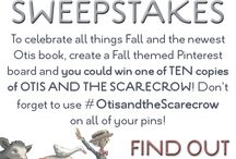 Fall with Otis and the Scarecrow / by Emily Goralczyk
