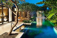 Gorgeous Luxury Hotel Swimming Pools / Gorgeous Swimming Pools in Luxury Hotels Around the World #luxurytravel #luxuryhotel #hotel #luxurypool #pool