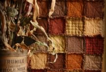 Old primitive quilt