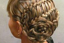 Çiçekli Saç ve güzellik