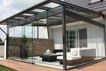 Terrassendächer und Glasdächer