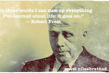 Quote Of The Day / Famous life quotes to live by, from the legends.