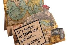 Wanderlust card ideas