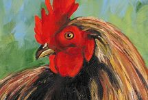 CHICKEN / ROOSTER  in Art