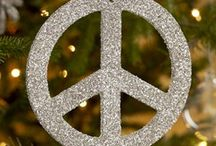 Christmas Ideas / Christmas, Peace, Holiday, Decorations, Homemade