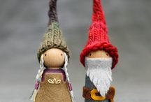 Trends - Gnomes & Fairies / Gnomes, Fairies, Mushrooms and woodland creatures!