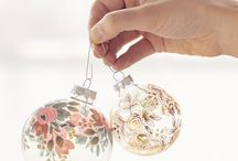Christmas decorations boho