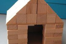 Bouwen met blokjes kleuters/bouwhoek