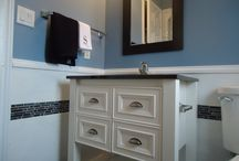 Bathroom remodel / by Laurie Vale