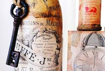 Altered Bottles / by Debbie Patterson (Laughngypsy.etsy.com)