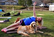 A Dog Mom's FITNESS / Don't exercise by yourself, when you can exercise with your dog!