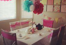 Girls Party Ideas - Garden Tea Party