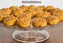 Dulce  grecesc cu miere si nuci