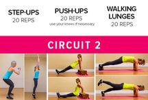 Workouts- Full Body / by Lindsay Ezola