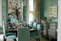 Living & Dinning Room Inspiration / Getting ideas and inspiration for my living room and dinning room. The two rooms open into each other via a large arched wall. / by Ami White