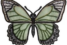 machine emb butterflies & bugs