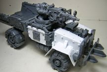 Ork looted vehicles