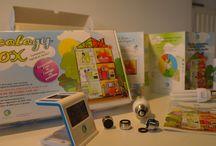 Azzura Lights® - Ecology Box® / Kit de sensibilisation aux économies d'énergie et d'eau, fabriqué en France et créé par Azzura Lights® -  Pour plus d'informations: contact@azzura-lights.fr