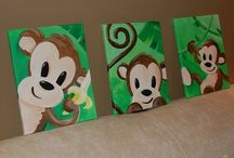 DIY paint canvas