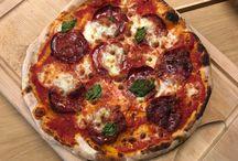 Pizza + dej+ tilbehør