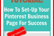 How to set up your own business on Pintrest / Tutorial