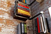 Plumbing pipe shelves / This board is about ideas for building various tables, shelves and furniture made of plumbing pipe parts and accessories