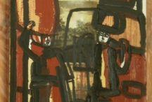 Galleria del 2004 / arte astratto materica informale