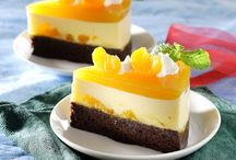 puding cake jeruk