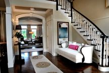 Inspiration: Entry Ways & Staircases