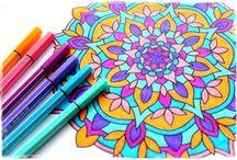 Kreslení a malování / Přijďte si k nám pro prima tipy pro malování, vybarvování a kreslení.