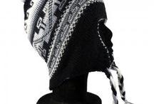 Bonnet péruvien homme / Bonnet péruvien pour homme fait à la main par des artisans du Pérou en laine d'alpaga.