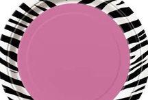 Pink Zebra Stripe Party Ideas