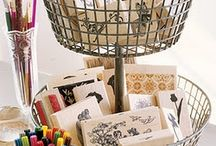 Upcycled Storage Ideas / by Anette Gomez