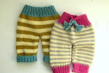 knitted kids clothes