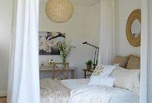 Raumteiler Bett