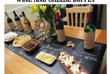 Cheese, Chocolate + Wine
