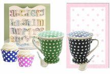 Polka dots - I love dots! / cani de ceai dots