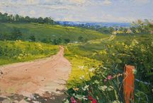 Landscape Paintings & Prints / Landscape Paintings created by emerging and established artists