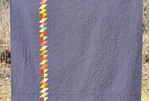Modern quilts / Modern quilts, alternative gridwork