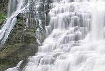 Ithaca NY Hiking, Biking, Gorges and Waterfalls, Collected by Janice. Brodowsky