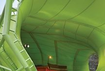 Awesome tensile fabric structures