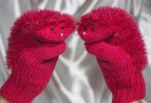 Варежки, перчатки - детям