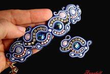 Fashion jewellery / biżuteria sutasz, soutache, biżuteria projektowana